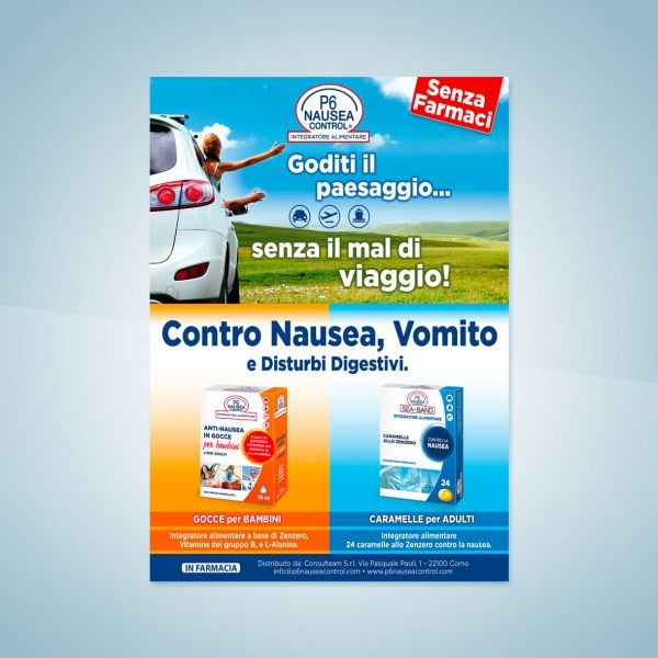 Campagna stampa P6 Sea Band