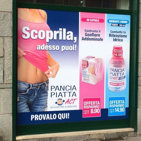 Campagna stampa Pancia Piatta Act