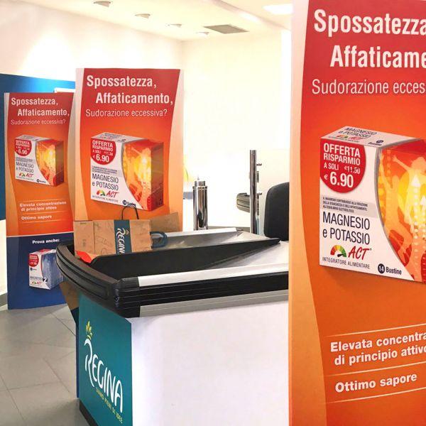 Antenne per supermercato Linea Act