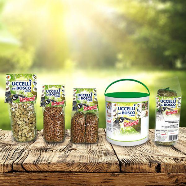 Packaging mangimi Uccelli del Bosco