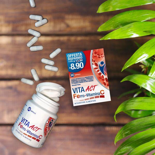 Packaging Vita Act Ferro + Vitamina C
