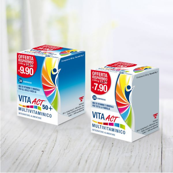 Packaging Vita Act Multivitaminici